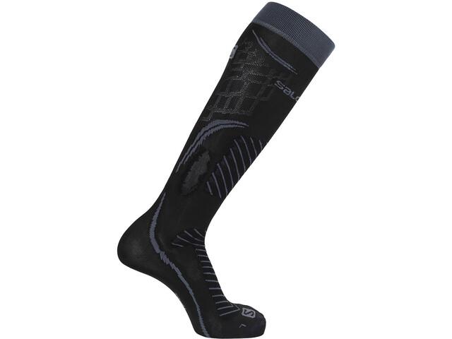 Salomon X Pro Chaussettes de ski montantes, black/ebony